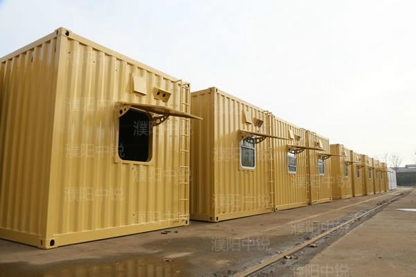 沙漠防风沙营房
